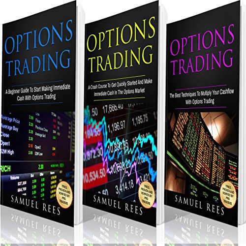 Options Trading: Ultimate Beginner Guide: 3 Manuscripts audiobook cover art