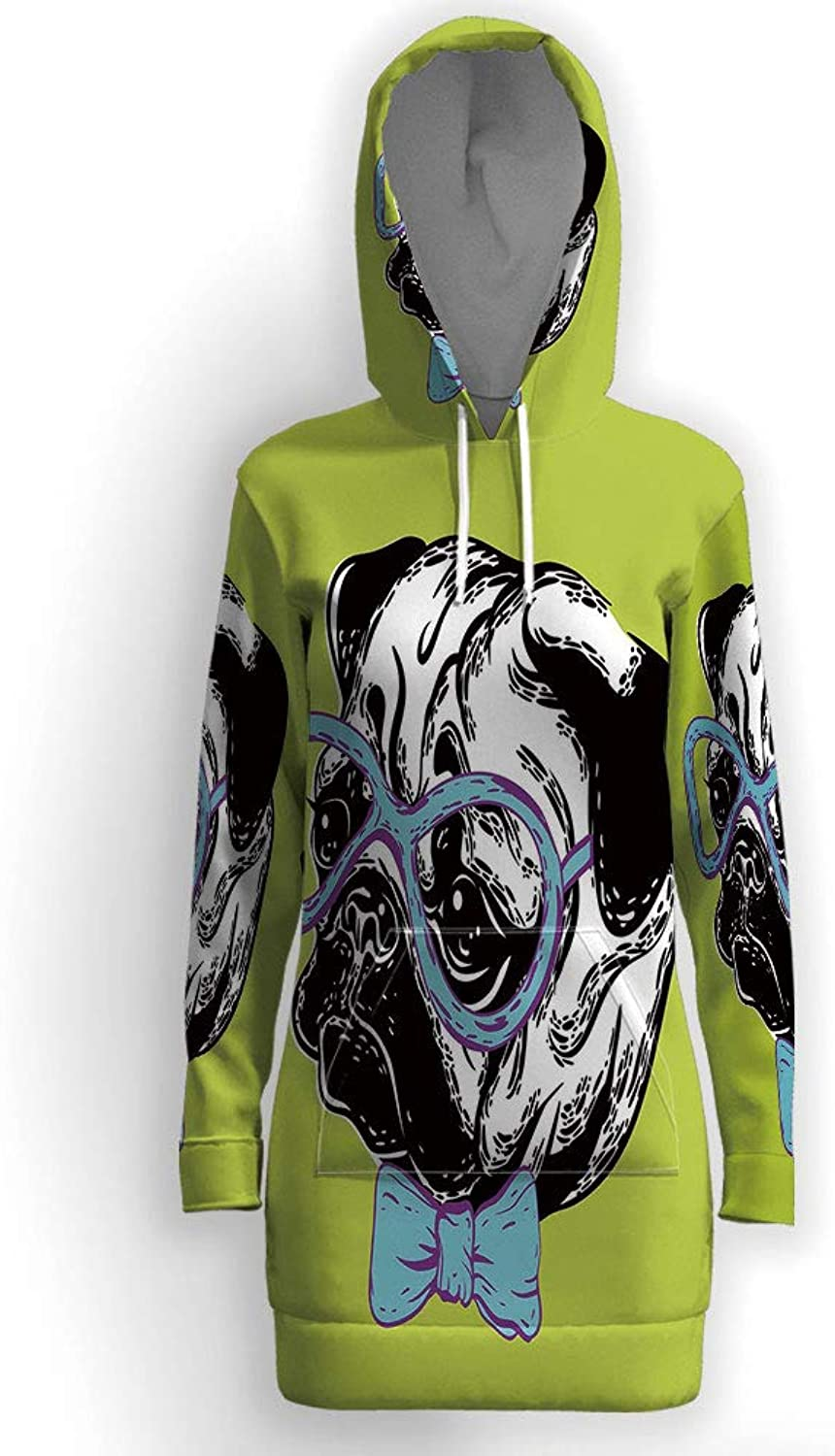 IPrint Psychedelic Decor,Long Hoodie Outerwear Jacket