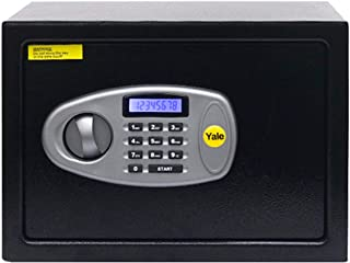 Yale Standard Medium Electronic Safe with Pincode Access- 16.3 litres, Black