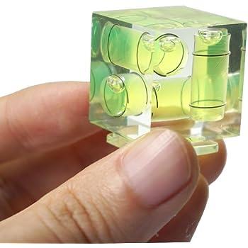 メラ 用 ホットシュー 水準器 トリプルバブル 水平器 3軸バブル カメラ水平器 接続型 レベル 一眼レフ デジタル 用 アクセサリー ほとんどのモデルに適しています (Sony、Minolta には該当しません)