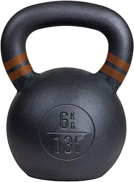 Kettlebell  new 13 lb/6 kg cast iron -fitness- palestra- pesi - everlast P00001802