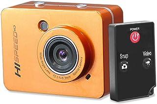 Pyle PSCHD60OR Hi-Speed HD 1080P Action Camera Hi-Res Digita