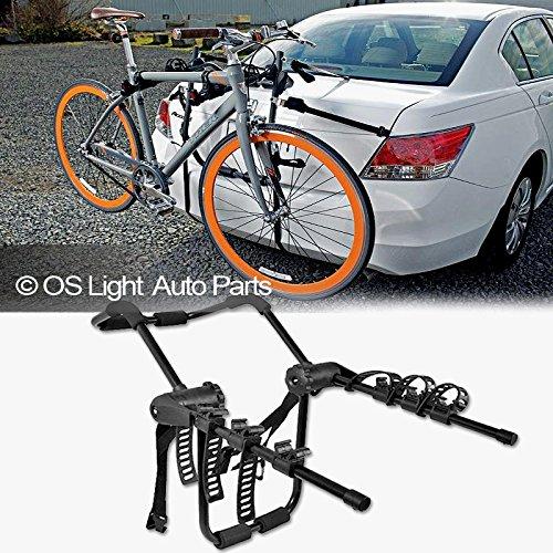 LT Sport Bicycle Rack Holder for 4-Door Sedan Rear Trunk Mount 3-Bike Mounting...