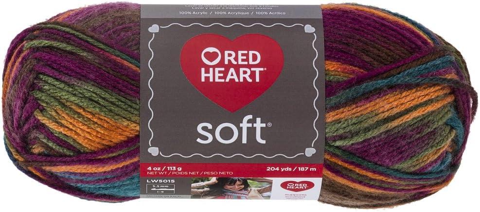 5 ☆ popular Red Heart Soft Jeweltone Max 71% OFF Yarn