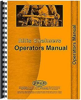 Allis Chalmers 1200 series field cultivator Operators Manual