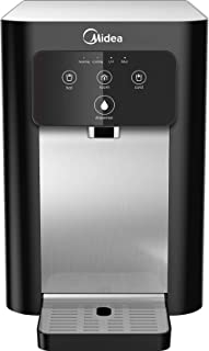 Midea Table Top Water Purifier, JL1940T, RO+UV, Hot, Cold and Ambient Water Option, Black Color, 1 year Service Warranty