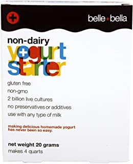 low fat yogurt by belle+bella