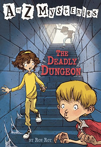 The Deadly Dungeon (Turtleback School & Library Binding Edition) (A to Z Mysteries)