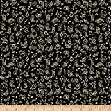 QT Fabrics 0725339 Jersey Knit Fine Tuning Music Notes