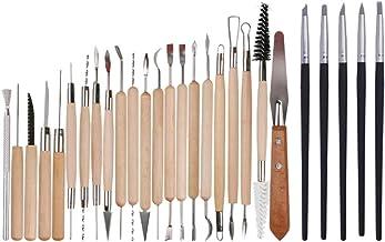 DOITOOL – Conjunto de ferramentas para argila de polímero, ferramentas para escultura em argila e para modelar cerâmica, f...