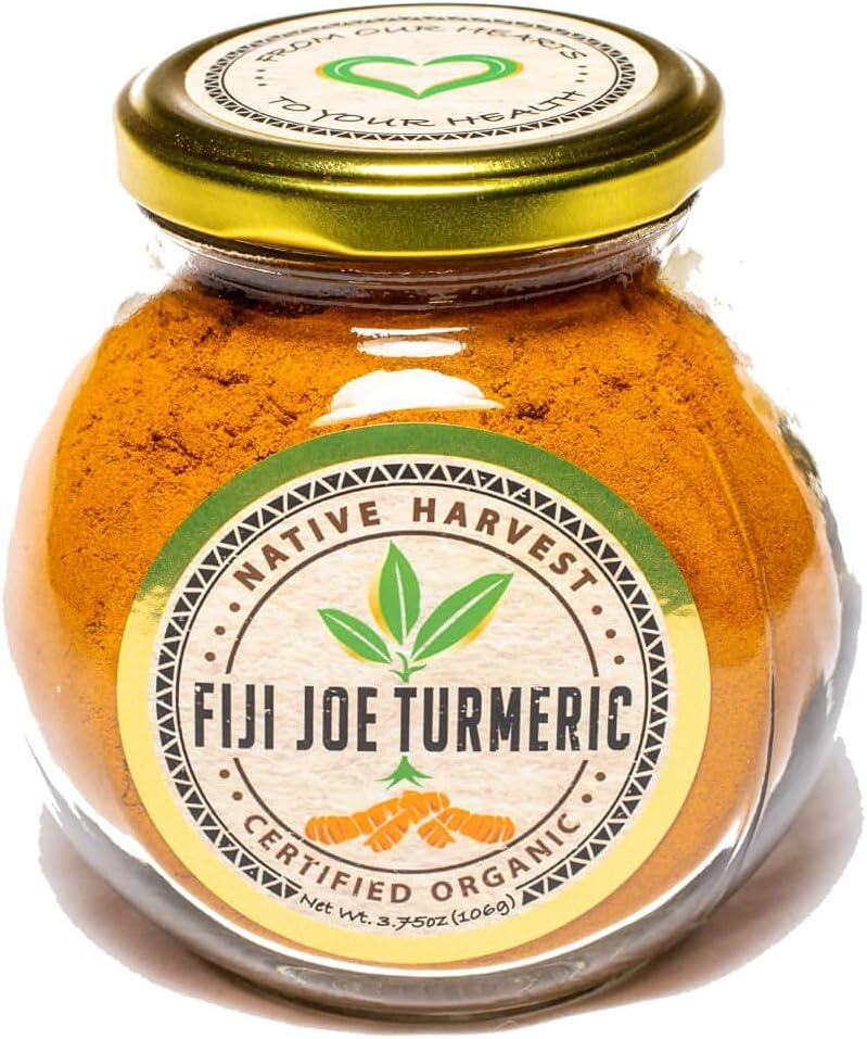 FIJI JOE TURMERIC POWDER Mesa Mall - Luxury goods 100% this Pure Powd Turmeric Organic