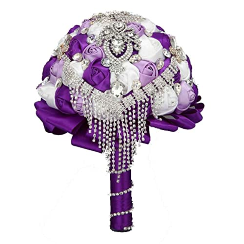Whole Foods Wedding Bouquet: Purple Wedding Bouquets: Amazon.com