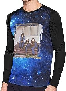 Shirt Men's Long Sleeves T-Shirt Raglan Contrast Color T Shirt Man's Breathable T Shirt