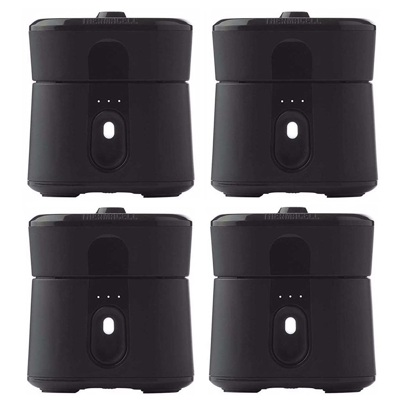 Thermacell Radius Zone Pocket-Sized Mosquito Repelling Device (Black) 4-Pack: Each Protects 110 Sq. Ft. Zone