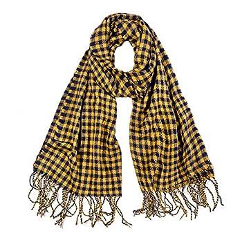 yellow winter scarf