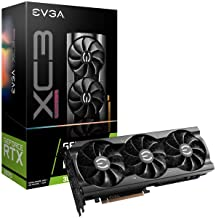 EVGA 08G-P5-3755-KR GeForce RTX 3070 XC3 Ultra Gaming, 8GB GDDR6, iCX3 Cooling, ARGB LED, Metal Backplate