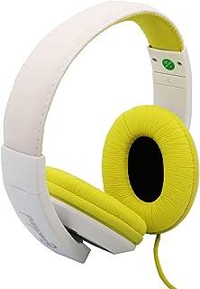 Syba 子ども用オーバーイヤーステレオヘッドフォン(ライム)