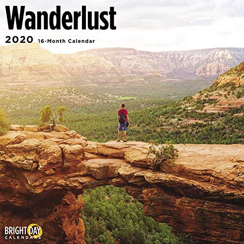 Wanderlust Wall Calendar 2020