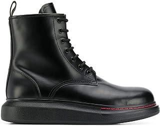 Luxury Fashion | Alexander Mcqueen Men 586191WHX511000 Black Leather Ankle Boots | Autumn-winter 20