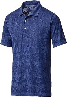 576127 Men's Evoknit Camo Polo Shirt, Medium, Black