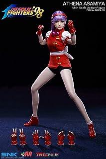 限定版【TBLeague】1/6 フィギュア用 素体 ヘッド 服セット SNK KOF 98 PL2018-135 Athena Asamiya 超柔軟性・シームレス・女性 セクシー美人ヘッド