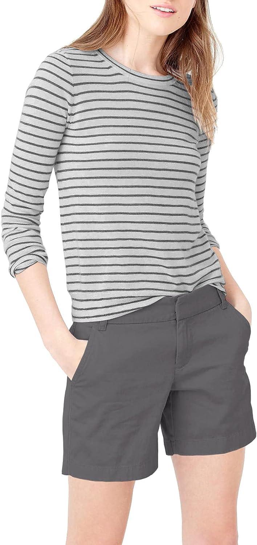 Hybrid & Company Womens 7 inch Inseam Super Comfy Bermuda Walking Shorts