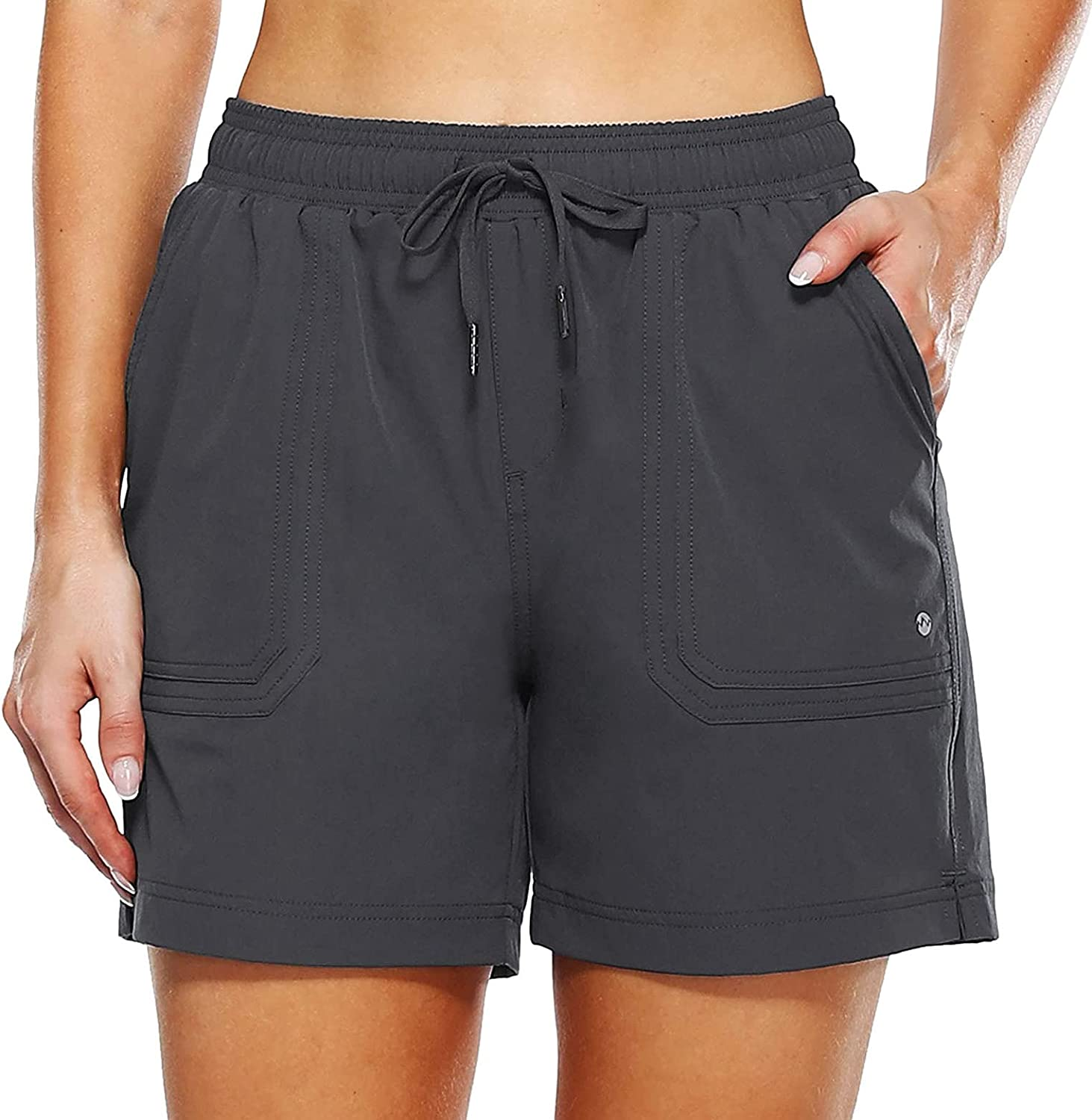 YUNDAN Women's Cycling Louisville-Jefferson County Free shipping anywhere in the nation Mall Shorts Fit Loose Quick Drawstring