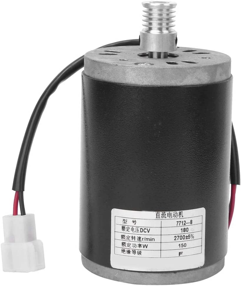 VGEBY DC Motor 7712-8 220V 150W Overseas parallel import regular item Directly managed store Permanent Magne Alloy Aluminium