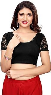 Kanchnar Women's Cotton Stretchable Lycra Blouse