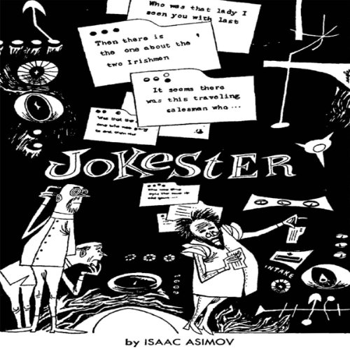 Jokester audiobook cover art