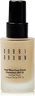 Bobbi Brown Long Wear Even Finish Foundation SPF 15, No. 1 Warm Ivory, 1 Ounce