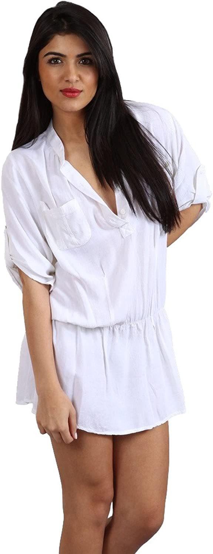 Rails Keira Drop Waist Placket Tunic Button Down Pocket Long Shirt