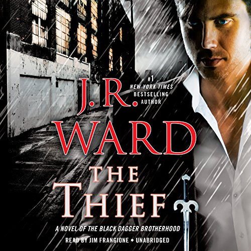 The Thief     A Novel of the Black Dagger Brotherhood              De :                                                                                                                                 J. R. Ward                               Lu par :                                                                                                                                 Jim Frangione                      Durée : 14 h et 25 min     1 notation     Global 5,0