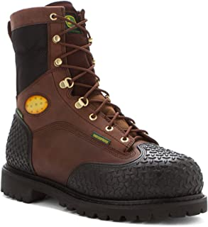 John Deere Men's 9-Inch Lace-Up WP EH ST Work Boots