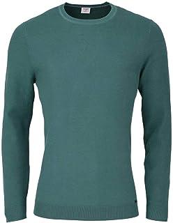Billig Damen Boxy Fit Pullover mit Details im Zopfstrick