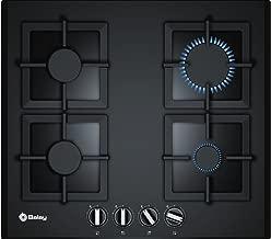 Balay 3ETG664HB Integrado Encimera de gas Negro hobs - Placa (Integrado, Encimera de gas, Vidrio, Negro, hierro fundido, 1000 W)