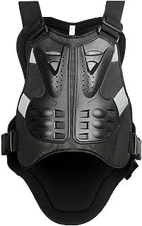 SunTime Motorrad Weste Brustpanzer Pro Motocross ATV Rückenprotektoren Schutzweste Scooter MTB Enduro für Reiten Skating Roller Skifahren Snowboard XL