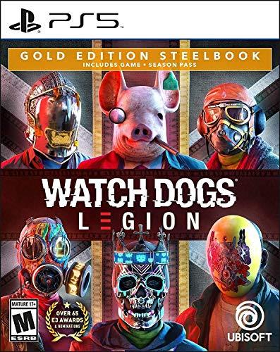 Watch Dogs: Legion PlayStation 5 Gold Steelbook Edition