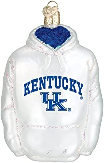 Old World Christmas Kentucky University Wildcats Glass Blown Ornaments for Christmas Tree Hoodie