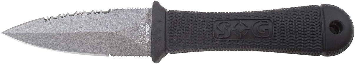 SOG Mini Pentagon Fixed Blade Knife