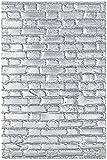 Carpeta de repujado Texture Fades 3-D 664259 Enladrillado de Tim Holtz