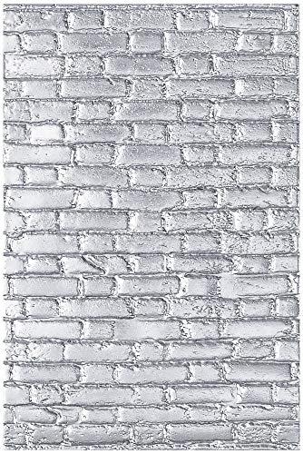 3-D Cartella da Embossing Texture Fades 664259, Mattoni di Tim Holtz