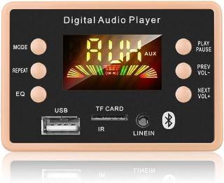 USDWR Hands-Free MP3 Player Decoder Board MP3 Decoder Decoding Board Module 12V Bluetooth 5.0 Car USB MP3 Player WMA WAV S...