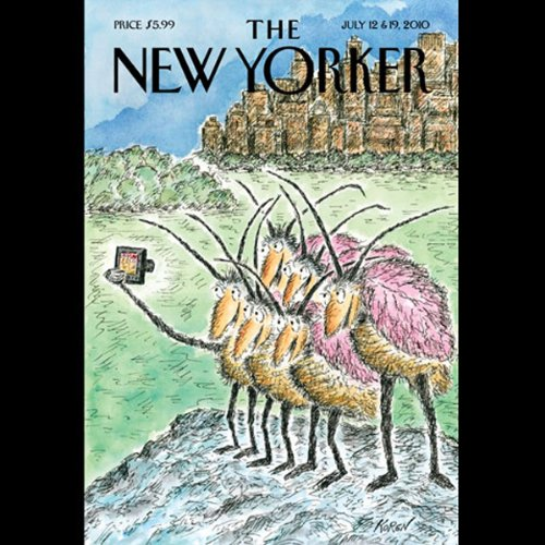 The New Yorker, July 12th & 19th 2010: Part 1 (Barbara Demick, Ben McGrath, Daniel Mendelsohn) cover art