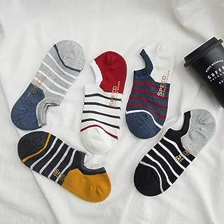 MELLIEX 4 Paires Chaussettes Basses pour Femmes Respirantes Coton Invisibles Anti-D/érapant Prot/ège-Pieds Socquettes
