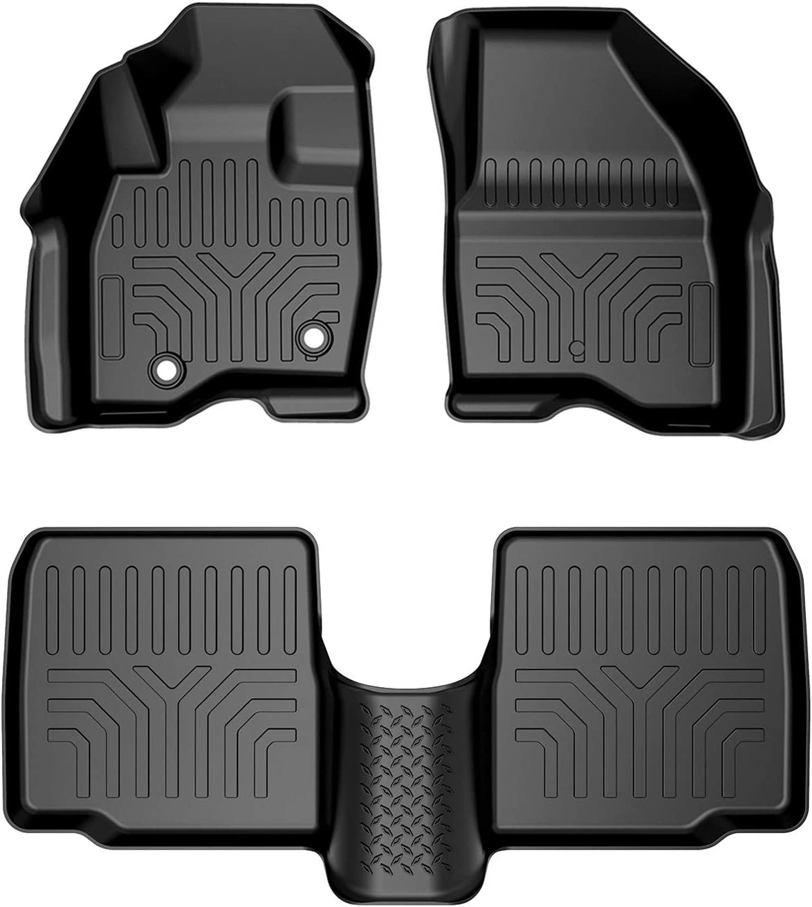 Floor Mats Compatible with Import Explorer 2015-2019 Guard All Safety and trust Weather