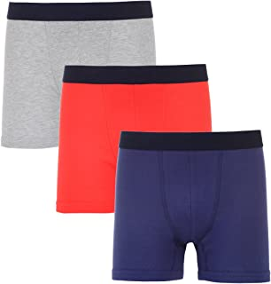 Van Heusen Men's 3 Pack Cotton Boxer Brief (Without Fly)