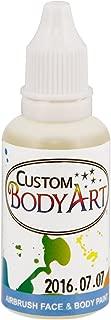 Custom Body Art 1-ounce White Water Based Airbrush Body Art & Face Paint