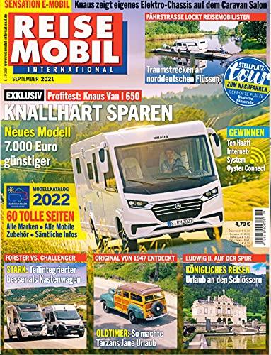 """Reisemobil International 9/2021 \""""KNALLHART SPAREN\"""""""