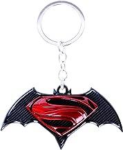 CG Costume Batman V Superman: Dawn of Justice Logo KeyChain Key Ring Alloy